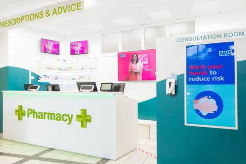 Pharmacy Display Digital Screens